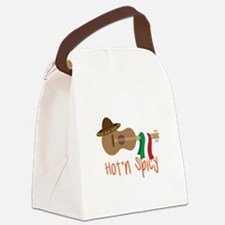 Hot'n Spicy Canvas Lunch Bag