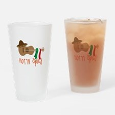 Hot'n Spicy Drinking Glass