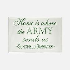 schofield barracks Magnets
