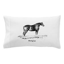 Belgian Horse Pillow Case