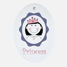 Princess Ornament (oval)
