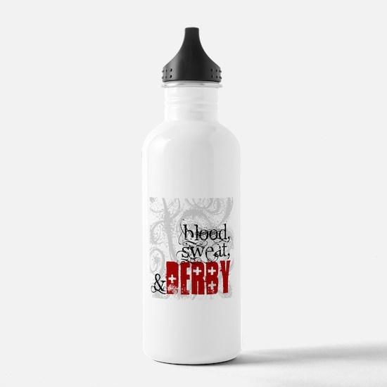 Blood, Sweat & Derby Water Bottle