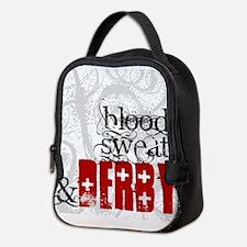 Blood, Sweat & Derby Neoprene Lunch Bag