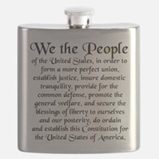 We the People US Flask