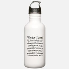 We the People US Water Bottle