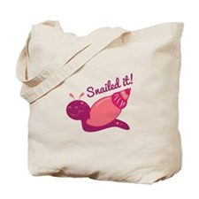 Snailed It! Tote Bag