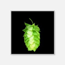 Fresh hop on black Sticker