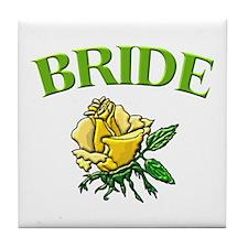 Bride (rose) Tile Coaster