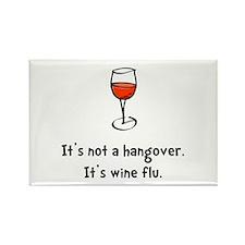 Wine Flu Magnets
