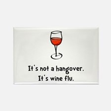 Wine Flu Magnets
