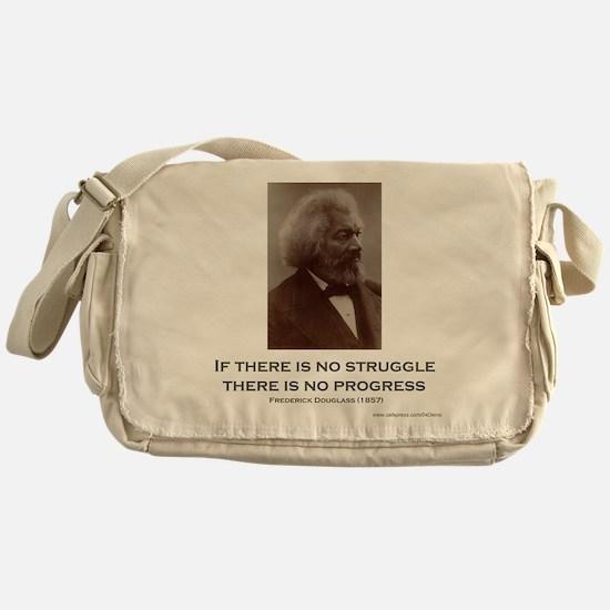 """""""Struggle and Progress"""" Messenger Bag"""