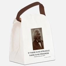 """Struggle and Progress"" Canvas Lunch Bag"
