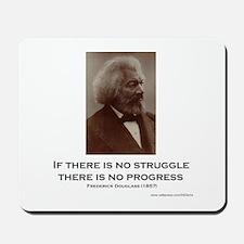 """Struggle And Progress"" Mousepad"