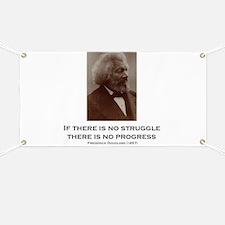 """Struggle And Progress"" Banner"