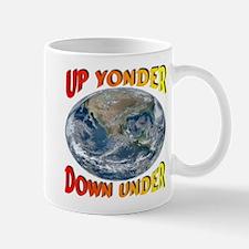 Up Yonder Down Under Mug