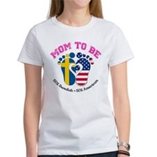 Swedish American Mom to Be T-Shirt