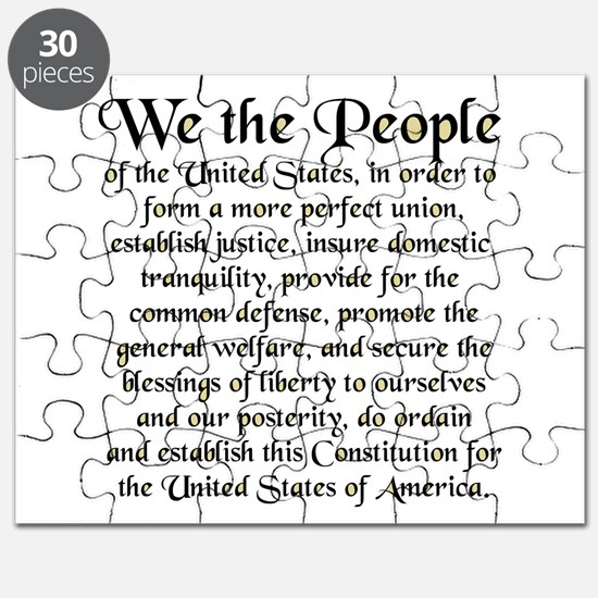 We the People US Puzzle