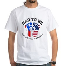 Puerto Rican American Dad to Be T-Shirt