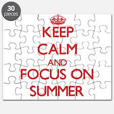 Unique Dog days summer Puzzle