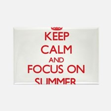 Keep Calm and focus on Summer Magnets
