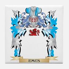 Cute Emely Tile Coaster