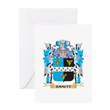 Emmett Coat of Arms - Family Crest Greeting Cards