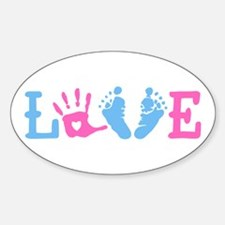 Love Baby Decal