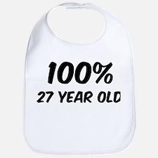100 Percent 27 Year Old Bib