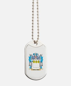 Cute Family crest england Dog Tags