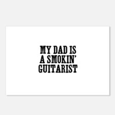 my dad is a smokin' guitarist Postcards (Package o