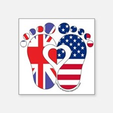British American Baby Sticker