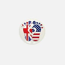 British American Baby Mini Button