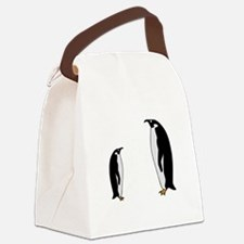 Penguin Birds Canvas Lunch Bag