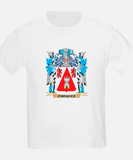 Enriquez Coat of Arms - Family Crest T-Shirt