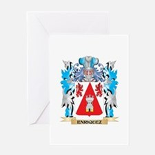 Enriquez Coat of Arms - Family Crest Greeting Card