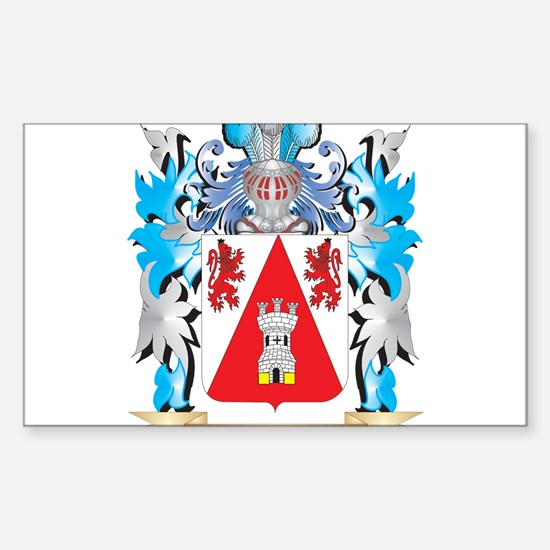 Enriquez Coat of Arms - Family Crest Decal