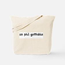 UnPHOgettable Tote Bag