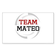 Mateo Rectangle Decal