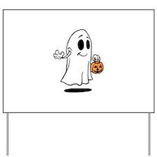 Happy Halloween,Ghost Yard Sign