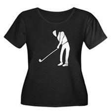 Golfer Plus Size T-Shirt