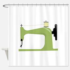 Sewing Machine Shower Curtain