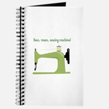 Lean, Mean Sewing Machine! Journal