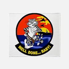 Cool Tomcat Throw Blanket