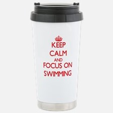 Cute Calm dive Travel Mug