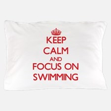 Cute Calm dive Pillow Case