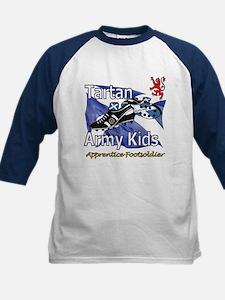Tartan Army Kids Scotland Baseball Jersey