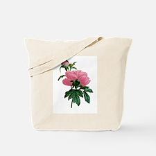PINK PEONIES Tote Bag