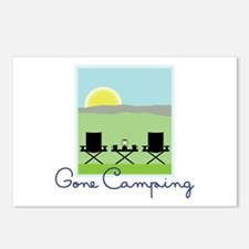 Gone Camping Postcards (Package of 8)