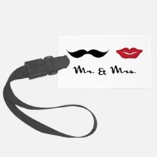 Mr & Miss Luggage Tag