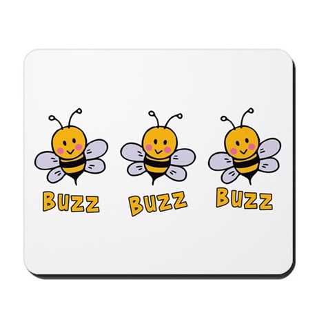 Buzz Buzz Bee Mousepad